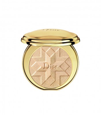 DIORIFIC GOLDEN SHOCK ILLUMINATING PRESSED POWDER 001 GOLD SHOCK COMPACT